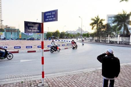 Những con đường mang tên khó hiểu ở khu đô thị Nam Trung Yên (Ảnh: Lao Động)