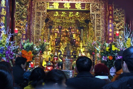 Rằm tháng giêng được cho là ngày đức phật giáng lâm tại các chùa
