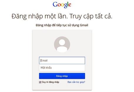 Rất nhiều người Việt Nam sử dụng Gmail trao đổi công việc (Ảnh minh họa)