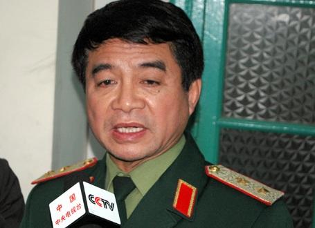Trung tướng Võ Văn Tuấn - Phó Tổng Tham mưu trưởng Quân đội Nhân dân Việt Nam