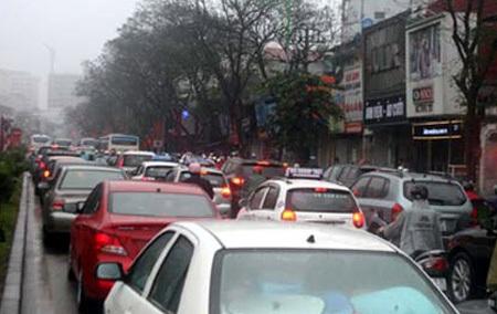 Tuyến đường giao thông huyết mạch Xuân Thủy - Cầu Giấy sẽ cấm ô tô trong 3 tháng