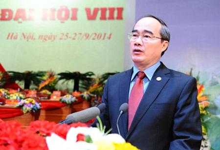 Ông Nguyễn Thiện Nhân tiếp tục làm Chủ tịch Ủy ban Trung ương Mặt trận Tổ quốc Việt Nam