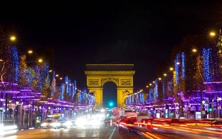 Tại Paris (Pháp), du khách sẽ được chiêm ngưỡng