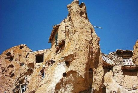 """Khám phá ngôi làng """"tổ mối"""" kì lạ ở Iran"""