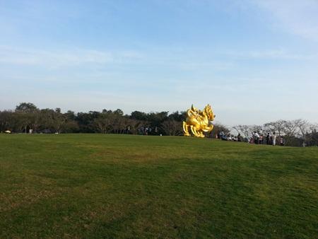 Trên đồi biểu tượng của Shingha Park