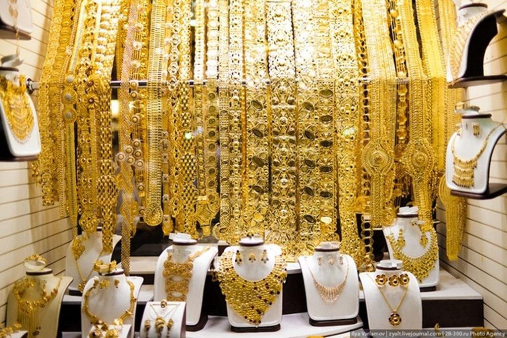 Chợ trang sức vàng ở