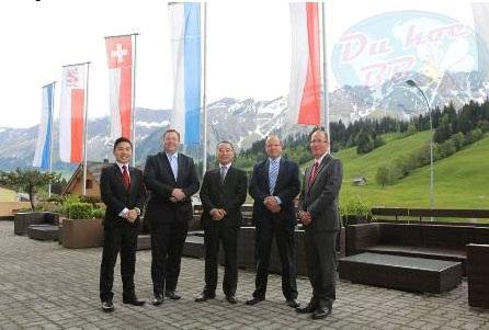 Đại diện Cầu Xanh trong chuyến thăm Thụy Sĩ thường niên và làm việc tại HTMi