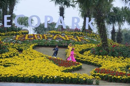 Mãn nhãn với công viên hoa Xuân