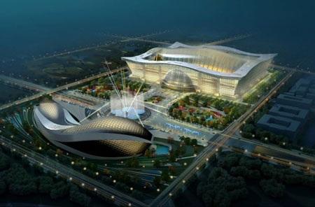 New Century Global Centre ( tại Thành Đô)- Tòa nhà lớn nhất thế giới