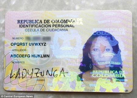 Thẻ căn cước mới của nữ giảng viên với cái tên độc nhất thế giới: Abcdefg Hijklmn Opqrst Uvwxyz
