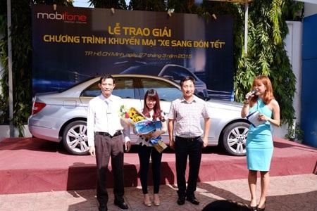 """Mobifone và Mobifone Service trao thưởng chương trình """"Xe sang đón Tết"""""""