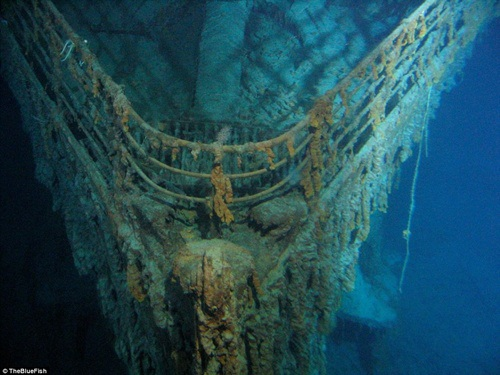 Tàu Titanic đang nằm ở độ sâu hơn 3800m