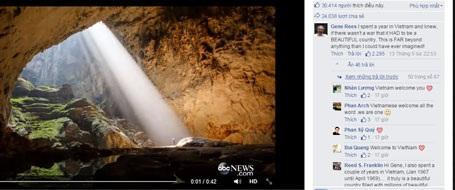Hình ảnh chụp từ trang Facebook chính thức của ABC News