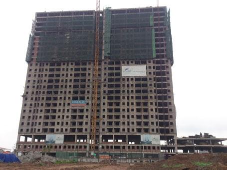 Tiến độ xây dựng tòa T1 – Thăng Long Victory (Cập nhật ngày 13.05.2015)