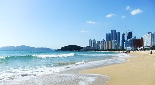 Vẻ đẹp mê hồn của bãi biển Haeundae