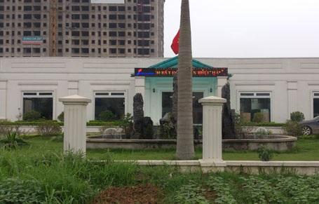 Khu dự án nhìn từ mặt đường Đại Lộ Thăng Long (Cập nhật ngày 13.05.2015)