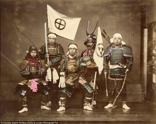 Những chiến binh samurai mạnh mẽ