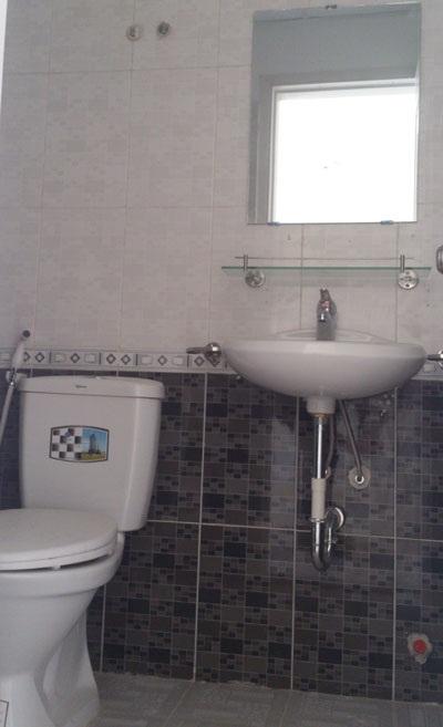 Đã hoàn thiện thiết bị vệ sinh
