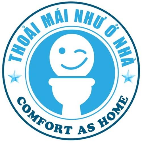 Logo thân thiện của những nhà vệ sinh công cộng 5sao ở Đà Nẵng