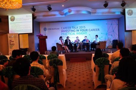 CFA tổ chức Hội thảo định hướng nghề nghiệp cho