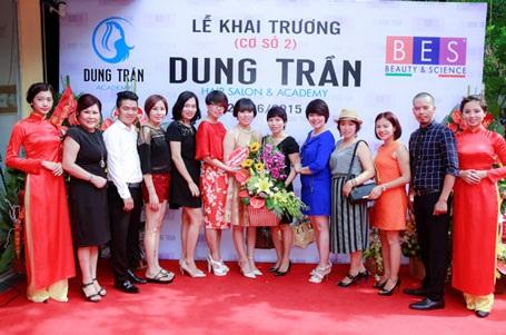 Sự kiện thu hút sự tham gia của đông đảo các nhà tạo mẫu tóc tên tuổi Hà Thành