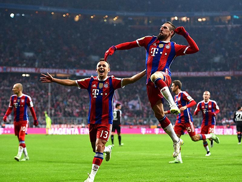 """Ribery ghi bàn thắng thứ 100 cho """"hùm xám"""""""
