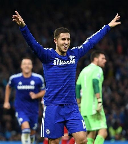 Real Madrid và PSG sẽ phải chi ra 70 triệu bảng nếu muốn có Hazard