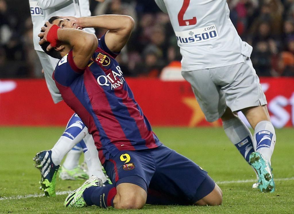 Luis Suarez vẫn chưa tìm lại được sự nhạy bén trước khung gỗ