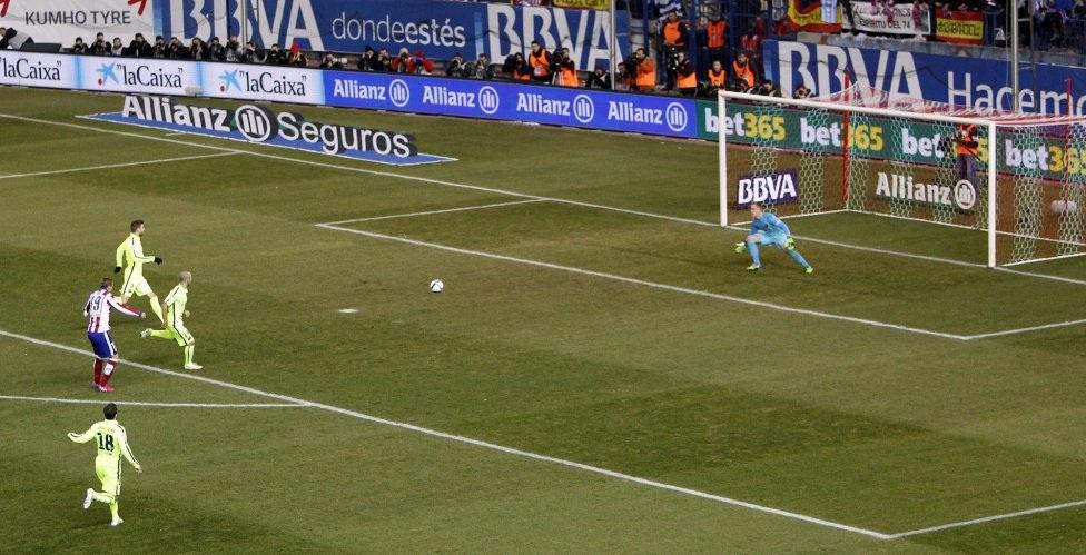 Trở lại Atletico, Torres đang cho thấy dấu hiệu hồi sinh.