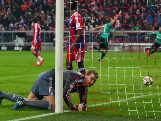Bayern Munich lần đầu không thắng trên sân nhà ở mùa giải này