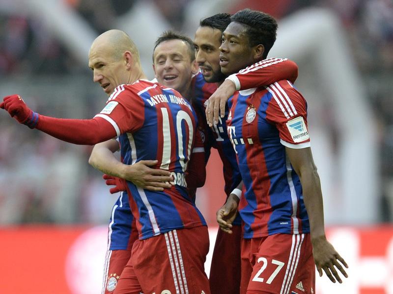 Bayern Munich có chiến thắng đậm đà nhất từ đầu mùa