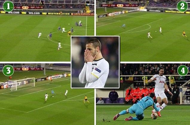 Phung phí nhiều cơ hội, Tottenham nhận trái đắng tại Italia