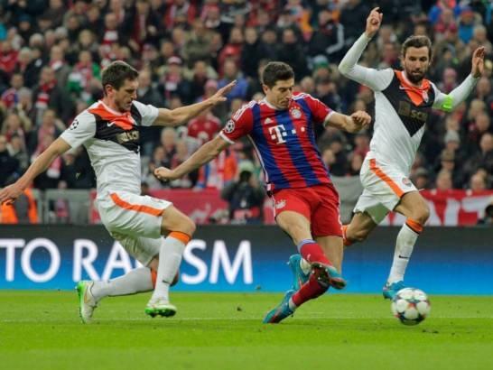 Một cơn mưa bàn thắng đã được các cầu thủ Bayern Munich tạo ra trên sân nhà