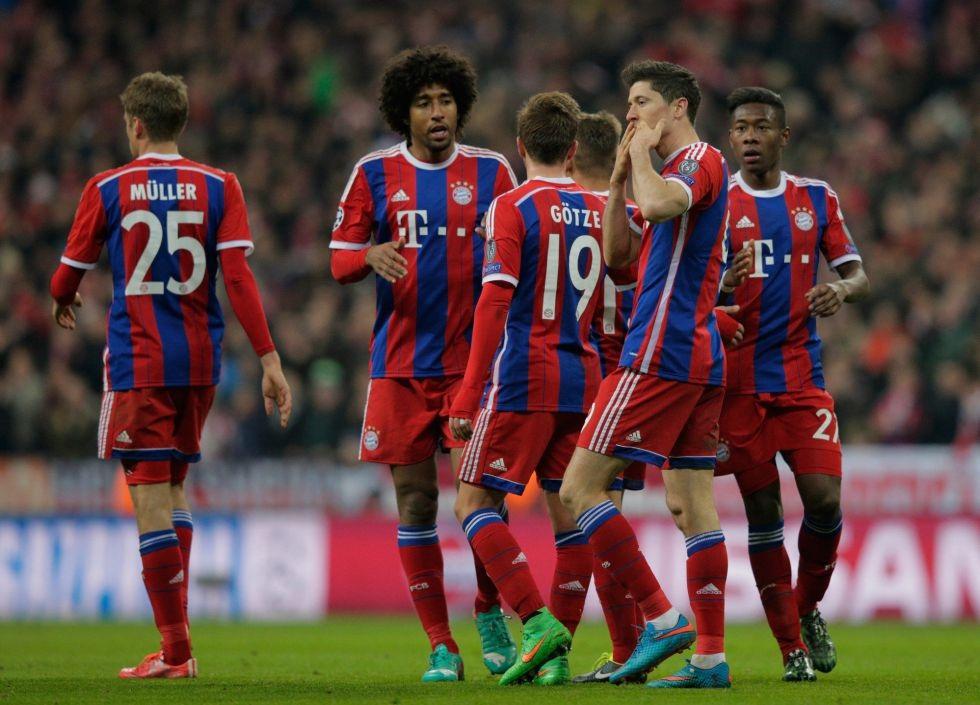 Bayern Munich có chiến thắng khá nhàn nhã trước Shakhtar Donetsk