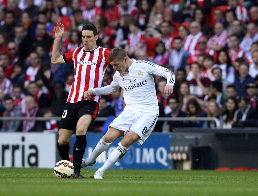 Như thường lệ, Real Madrid gặp rất nhiều khó khăn trước chủ nhà Athletic Bilbao.