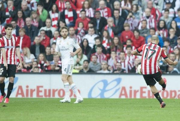Pha bóng kết liễu Real Madrid bắt nguồn từ quả tạt rất dẻo bên hành lang cánh phải của Rico.