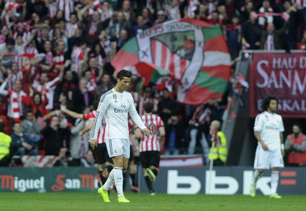 Gương mặt đầy thất vọng của C.Ronaldo.