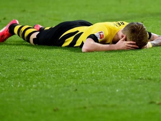 Những nỗ lực của Reus không thể giúp Dortmund kiếm được điểm trước Bayern Munich