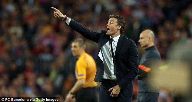 Luis Enrique vẫn chần chừ không chịu gia hạn hợp đồng với Barca