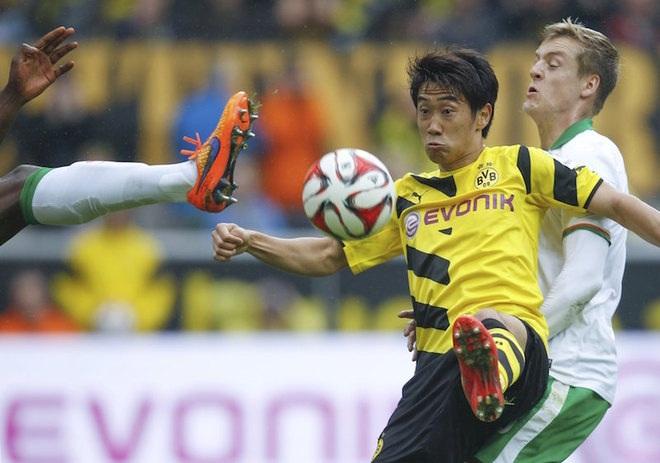 Dortmund có chiến thắng ấn tượng để tri ân HLV Klopp
