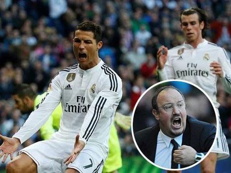 Benitez sẽ xây dựng đội hình xung quanh Bale thay vì C.Ronaldo?