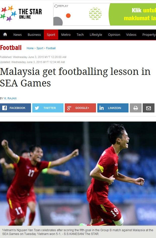 Malaysia nhận bài học từ Việt Nam