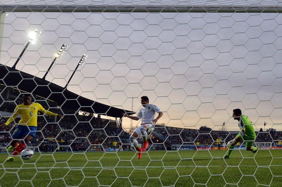 Ecuardo giành chiến thắng đầy ấn tượng trước Mexico