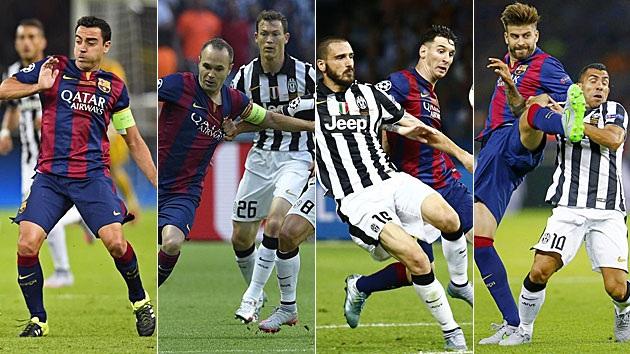 Bộ tứ Pique, Xavi, Iniesta và Messi đã có trong tay 4 chức vô địch Champions League