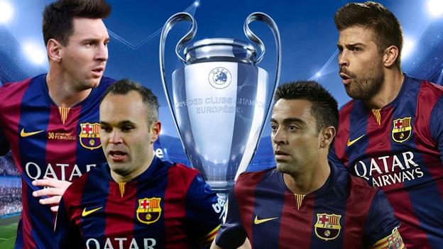 Piqué, Xavi, Iniesta và Messi đang hướng đến chức vô địch Champions League thứ 4 trong sự nghiệp