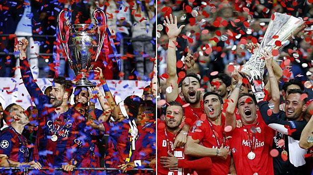Các đội bóng Tây Ban Nha đang rất thành công tại đấu trường châu Âu