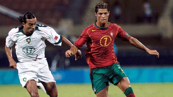 C.Ronaldo từng tham dự Olympics 2004 tại Athens, Hy Lạp