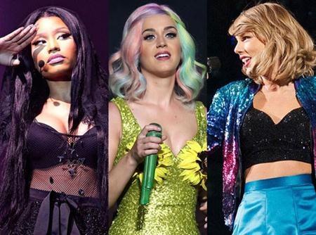 """Katy Perry bất ngờ """"chen giữa"""" cuộc chiến của hai đồng nghiệp"""
