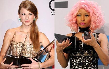 """Hai ngôi sao """"khẩu chiến"""" trước thềm lễ trao giải của MTV"""