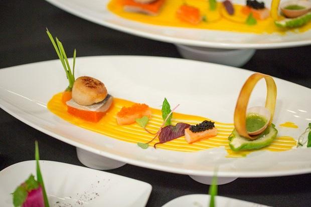 Và đây là thành quả: Món ăn được bài trí đẹp như tranh!